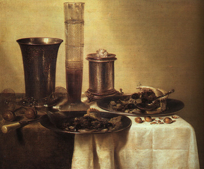 Heda, Willem Claesz  Still Life, 1637, oil on canvas, Musee
