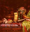 Hedou Jules Paul Ernst Still Life Of Japanese Exotica