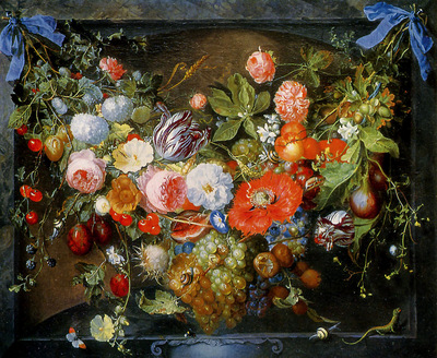 Heem de Jan Flower still life Sun