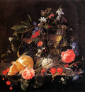 Heem de Jan Davidsz and Cornelis Flower still life