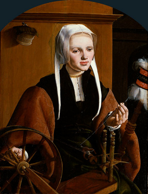 Heemskerck van Maarten Portrait of a woman Sun