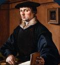 Heemskerck Van Maarten Portrait of a man Sun