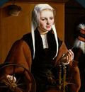 Heemskerck van Maarten Portrait of a woman Sun