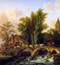 Assche van Henri The crossing of the bridge Sun