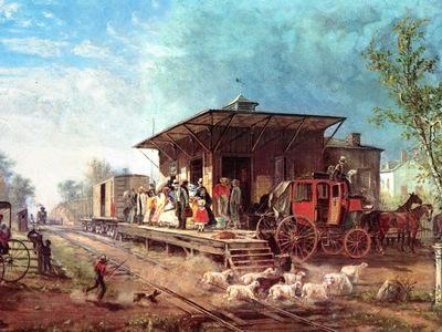 JLM 1864 Edward Henry Morris and Essex Railroad Station