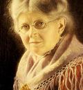 Heuster Carl Portrait Of An Elderly Swabian Woman