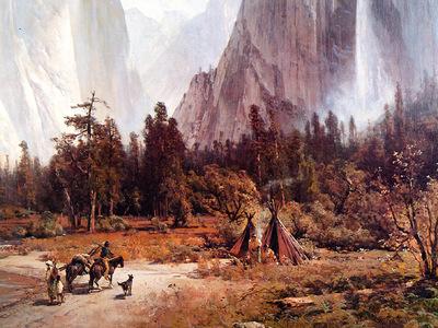 JLM 1860 Thomas Hill Yosemite Valley