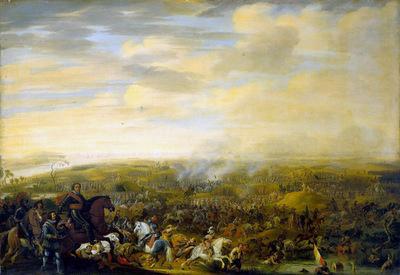 Hillegaert van Pauwels Battle at Nieuwpoort Sun