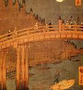 Hiroshige Utagawa Kyobashi Bridge