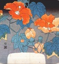 hiroshige hibiscus c1845
