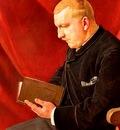 Hodler Ferdinand Lesender Mann