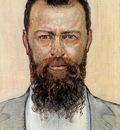 Hodler Ferdinand Self portrait Sun