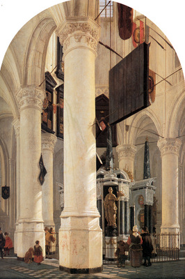 Hoeckgeest Gerard The tomb Willem the silent Sun
