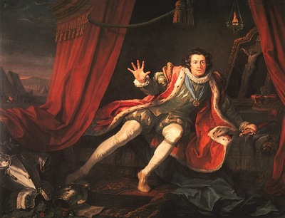 David Garrick as Richard 3 CGF