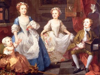Hogarth, William The Graham Children end