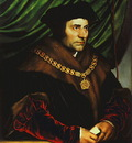 HOLBEIN SIR THOMAS MORE, FRICK COLLECTION