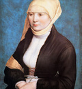 Holbein Hans Jr Portrait of a young woman Sun