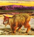 Republica SWD 040 William Holman Hunt The Scapegoat