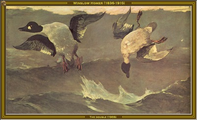 winslow homer the double 1909 po amp
