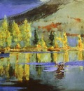 Homer An October Day, 1889, watercolor, Sterling Francine