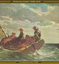 winslow homer the breezes rise 1876 po amp