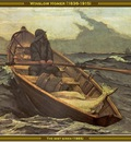 winslow homer the mist siren 1885 po amp