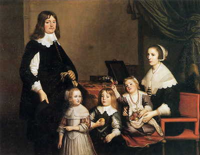 Honthorst van Gerard Portrait of an unknown family Sun