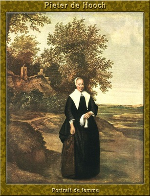 PO Vp S1 56 Pieter De Hooch Portrait de femme