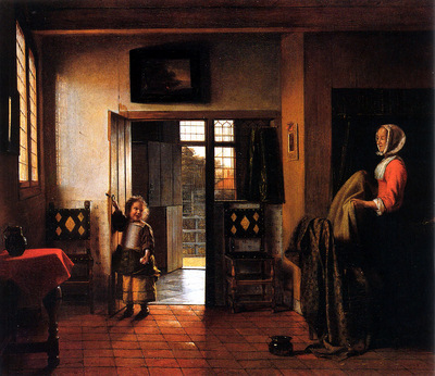 Y05 Pieter de Hooch The Bedroom sqs