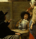 HOOCH,DE A DUTCH COURTYARD, 1658 1660, DETALJ 2, NGW