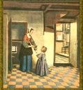 PO Vp S1 55 Pieter De Hooch Le cellier