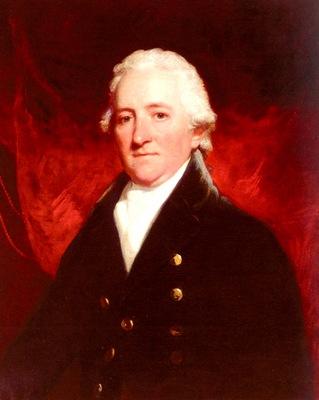 hoppner john portrait of samuel brandram 1743