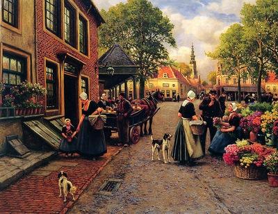 houben henri flowermarket in monnickendam