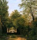 Hove van Bart View of garden from Burgwal Sun