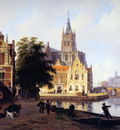 Hove van Bartholomeus City view with canal Sun
