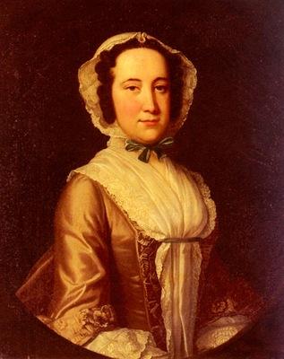Hudson Thomas Portrait Of A Lady