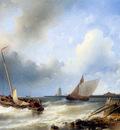 Hulk Abraham Sailing ship for the coast Sun