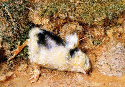 Hunt William Holman John Ruskin s dead chick