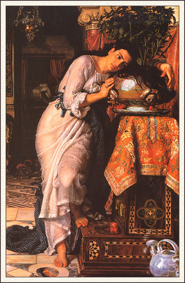 bs ahp William Holman Hunt Isabella And The Pot Of Basil