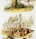 Huysmans Constantinus Landscape studies Sun