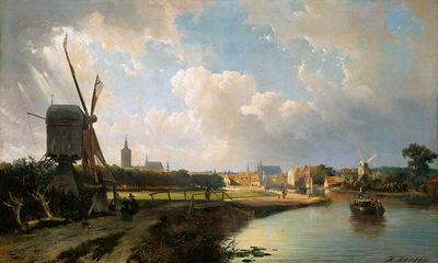Karsen Kaspar View on den Haag Sun