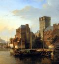 Karsen Kasparus Activity on the river of a city Sun