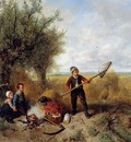 Kate ten Johan Mari Henri The disturbed picknick Sun