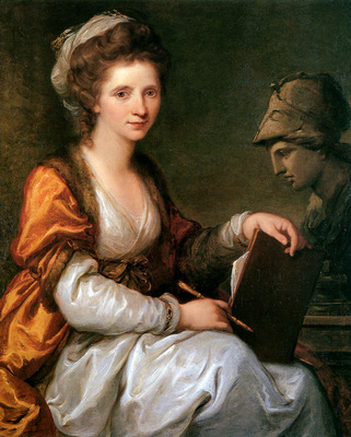 Kauffmann Angelika Self portrait Sun