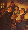 Kauffman Hugo Wilhelm The Zither Player