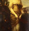 Kaulbach Hermann Portrait Of A Lady With A Mandolin