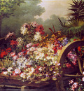 Keghel de Desire Cart with flowers Sun