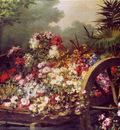 Keghel de Desire Cart with flowers Sun