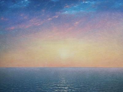 Sunrise on the Sea, John Frederick Kensett 1600x1200 ID
