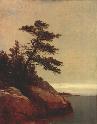 kensett the old pine, darien, connecticut